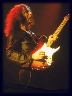 Often imitated, never duplicated. Here's to many more! Ritchie Blackmore born on this day in 1945.