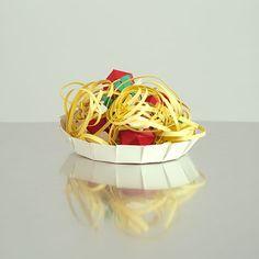 Paper food by Ruigwerk #2