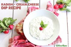 This creamy radish and cream cheese dip is packed with protein and a cool and zesty flavor. Serve with cut vegetables for a healthy real food snack.