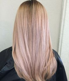 Pink rose blonde by Nicole Ruiz