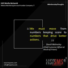"""Metrics do matter, but there is a lot of confusion on which ones. Gathering numbers just to """"keep score"""" is fruitless tactic. Look at numbers, and learn from them. Any meaningful metrics will drive action. HSP Media Network (Media Marketing Service Provider Company) #wednesdayvibes #wednesdaythoughts #marketingthoughts #thoughtsoftheDay #marketing #wednesday #wednesdaymotivational #bulksms #smsmarketing #marketingquote #hspsms #hspmedianetwork Marketing Quotes, Media Marketing, Confusion, Scores, Wednesday, Numbers, Action, Messages, Thoughts"""