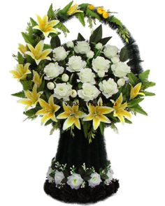 Rose Arrangements, Funeral, Wedding Flowers, Floral Wreath, Wreaths, Table Decorations, Crown Flower, Cross Stitch Rose, Floral Arrangements