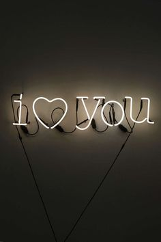 I Love You (Neon Sign)