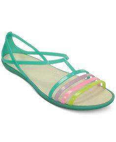 07b183f97a81 Crocs Women s Isabella Flat Sandals Shoes - Sandals   Flip Flops - Macy s