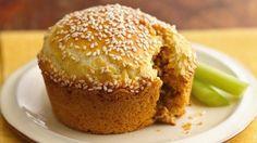 Burgers   31 Fun Treats To Make In A Muffin Tin