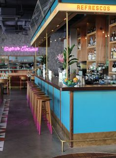 A corner of Singapore is going Super Loco for the fast food of rustic old Mexico diners… http://www.we-heart.com/2015/02/05/super-loco-robertsons-quay-singapore/: