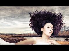 Photoshop Tutorial - Quick and Effective Hair Extraction Techinque via Refine Mask (CS5+) - YouTube