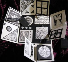 JoZart: Four Fold Card New & Old