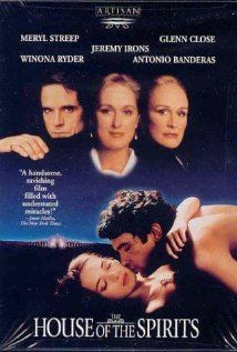 Great movie, shoot in Portugal in 1993, with Meryl Streep and Antonio Banderas. Written by Isabel Allende