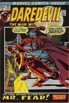 Daredevil  91Bronze age marvel comics group