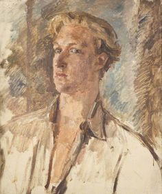 Portrait of a Man by Augustus Edwin John Amgueddfa Cymru – National Museum Wales Museum Art Gallery, Art Museum, Spanish Gypsy, Aberdeen Art Gallery, University Of Liverpool, Canadian Soldiers, Manchester Art, Woman Smile, Post Impressionism