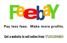Pay less fees.  Make more profits.  Get a website to sell online from TUZONGO.