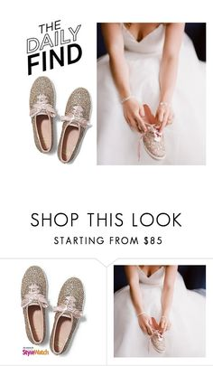 """Daily Find: Keds X Kate Spade Sneakers"" by polyvore-editorial ❤ liked on Polyvore featuring Keds and DailyFind"