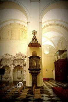 Púlpito. San Pedro Mártir (Toledo)
