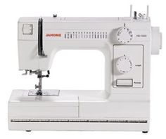 Janome Heavy-Duty Sewing Machine with 14 Built-In Stitches The Janome has many of the convenient features you'd expect on a higher-priced machine. Sewing Machine Online, Sewing Machine Reviews, Sewing Machines, Sewing Hacks, Sewing Tutorials, Sewing Projects, Sewing Ideas, Sewing Tips, Sewing Patterns