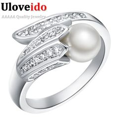Find More Rings Information about Korean 2016 Fashion Women's Rings Silver Ring with Stone CZ Pearl Rings for Women 2016 Handmade Retro Party Accessories J247,High Quality ring craft,China ring tanzanite Suppliers, Cheap ring rivet from D&C Fashion Jewelry Buy to Get a Free Gift on Aliexpress.com