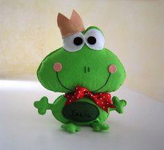 ♥♥♥ Sapinho para o Jalil... by sweetfelt