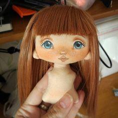 "401 Likes, 25 Comments - VikTORRYa. Dollmaker.. (@torrytoys) on Instagram: ""Признаюсь честно, мне интересен процесс рисования, создания образа, прически....а  руки, ноги…"""