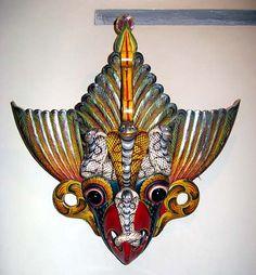Vesmunuhu Devil's mask, Sri Lanka