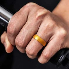 Best Silicone Wedding Band | Lian Carlo