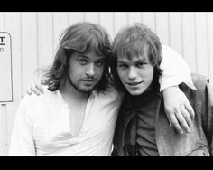 Steven Rothery and Mark Kelly, Marillion.