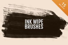 Check out Ink Wipes by Medialoot on Creative Market: http://crtv.mk/epIn