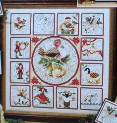 The 12 Days Of Christmas - Stoney Creek Collection - Book 408 - Counted Cross Stitch. $10.00, via Etsy.