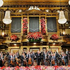 Vienna Philharmonic Orchestra, New Year's Concert.  I was there...but not at the New Year.