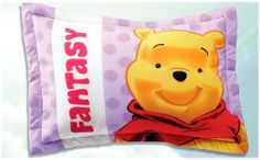 """Hot Seller A Smiling Winnie the Pooh Pillowcase by Kitty4U. $44.95. Measures: 50 x 70 cm 19"""" x 27.5"""". A brilliant product, especially sold and processed by Kitty4U at Amazon.com.. A must have item, especially for girls who loves Winnie the Pooh characters sooo much. A very nice pillowcase which will capture your kids attention in an instant. The vivid colors and design are amazing to decorate the room."""