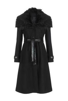 Leatherette Trim Coat.... Want so much