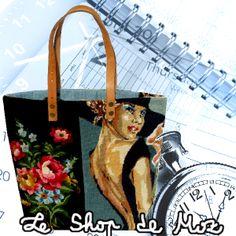 Cabas Ophélie du ShoP de MoZ, 69€