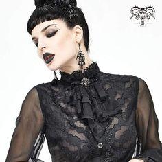 Brand:DEVIL FASHION Material:Polyester Weight:0.04KG Size:One Size Sku:AS08001 Goth Women, Layers Design, Women's Accessories, Gothic, Vintage Fashion, Punk, Neckline, Turtle Neck, Tie