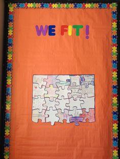 Hopes and dreams bulletin board. Responsive Classroom.