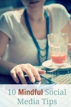 10 Mindful Social Media Tips via the Abundant Mama