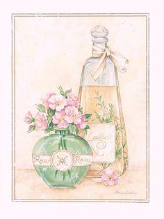 Imprimolandia: Imágenes de perfume vintage