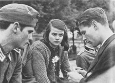 The White Rose Movement was a non-violent, intellectual resistance group in Nazi Germany consisting of students from University of Munich. Group ran a anonymous leaflet and graffiti campaign from June 1942 - February 1943 opposing Hitler.