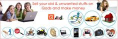 Making money from #old #stuffs is easy nowadays. Sell all your #stuffs on #Qads and make them beneficial.
