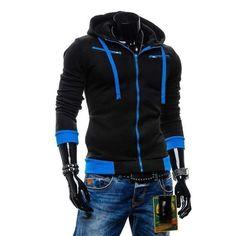 Fashion Zipped Hoodie (5 colors)