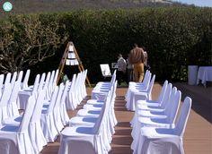 Decoración en los jardines en las Bodas del Restaurante Hotel Don Carlos de Pamplona (Huarte, Navarra).  #bodas #Pamplona #LasBodasDelAtelier #WeddingDeco #Decoración #DecoraciónBodas