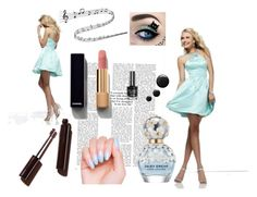 """""""Abschlussballkleider in blau."""" by johnnymuller on Polyvore featuring Chanel and Marc Jacobs"""