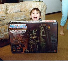 christmas excitement, he-man style - http://www.tutorfrog.com/christmas-excitement-he-man-style/  #Toys #cooltoys