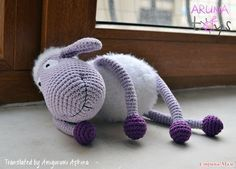 Amigurumi Mor Koyun Yapılışı-Amigurumi Sheep Free Pattern - Tiny Mini Design