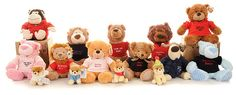 Design & make the perfect personalised teddy bears. Say it with Bears offer the largest range of personalised teddy bear gifts. Buy bears for any occasion. Extensions, Custom Teddy Bear, Personalised Teddy Bears, Teddy Bear Gifts, Cute Bears, Toys, Hamper, Animals, Giveaways
