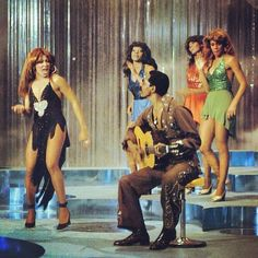 """The Ike & Tina Turner Revue!!! Singing """"Baby Get It On"""" #tinaturner #iketurner #ikeandtinaturnerrevue #babygetiton #70s…"""