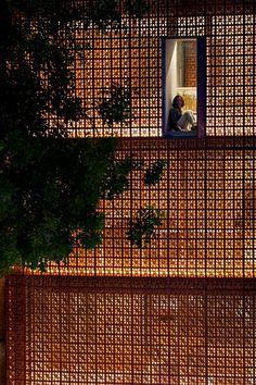 the lantern nanoco showroom vo trong nghia architects