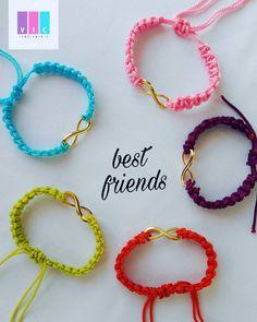 Accesorios Casual, Best Friends, Crochet, Bracelets, Jewelry, Get Well Soon, Womens Hiking Pants, Stud Earrings, Colombia