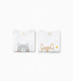 Image 1 of Pack of 1 animal bodysuits from Zara