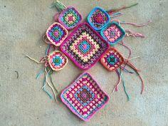crochet squares granny squares, crochetbug, crochet purse, crochet tote, crochet bag, granny square purse