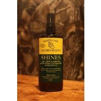 Shines White Oak Acorn Scent - This is 100% odor elimination cover scent & attractant in one bottle. Makes a deer's nose his worst enemy. $ 10.99