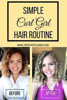 A simple method to achieve your best curls using the curly girl method! - - A simple method to achieve your best curls using the curly girl method! haircuts A simple method to achieve your best curls using the curly girl method! Curly Hair Routine, Curly Hair Tips, Curly Hair Care, Short Curly Hair, Products For Curly Hair, Frizzy Wavy Hair, Caring For Curly Hair, Curly Hair Headband, Thin Wavy Hair